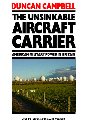Cover of 2015 reprint version of The Unsinkable Aircraft Carrier