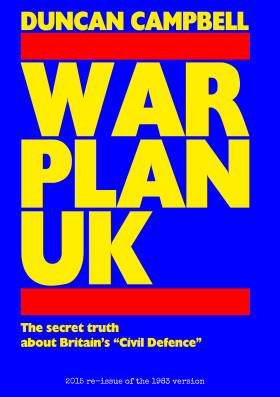 Front cover of War Plan UK re-release